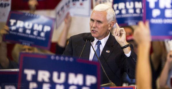 彭斯當選美國副總統曾簽署歧視同性戀法案|淡藍網